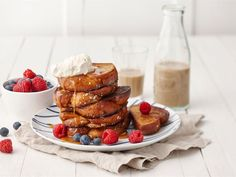 Latte, Waffles, French Toast, Baking, Breakfast, Desserts, Morning Coffee, Tailgate Desserts, Deserts