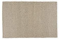 Our favorite cozy sweaters provided the starting point for this rug. Handwoven from natural, heathered yarns, Wallace has a nubby, pliable feel and inherent texture. The wool/cotton blend combines durability and comfort at a lasting value. Please note that shedding is a natural occurrence in high-quality wool rugs, but will decrease over time. The amount of shedding will depend on the traffic pattern and use of your rug.
