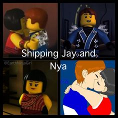 Nya X Jay/Ninjago | I CLEARY LOVE this ship!!!