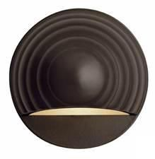 Hinkley Bronze Finish Round Low Voltage Deck Sconce