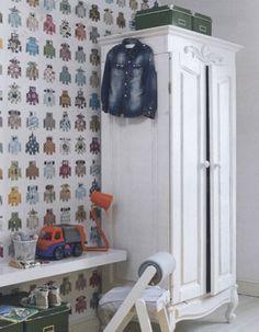 Robot behang, Jij & je kinderen, april 2013
