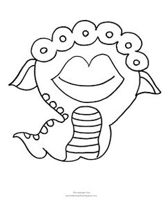 monsters inc coloring pages preschool - photo#38
