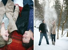 Winter Engagement @Shelby Campbell