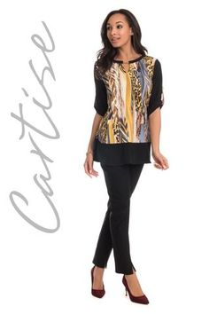 Cartise 2017. Amazing tunic! Proudly Made in Canada
