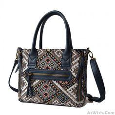 Dynamic Micro Wings Tote Bag Handbag Shoulderbag