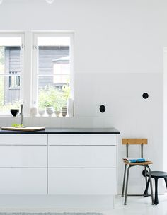 METOD kitchen spotted in a warm and cozy home blog