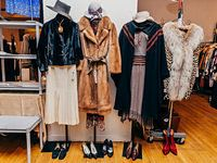 Thrift store clothing - removing smells and stains, refreshing leather, etc.
