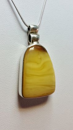 Baltic Amber Pendant by AmberAquileia on Etsy