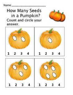 math worksheet : 25 super fun pumpkin themed math science literacy crafts and  : Halloween Math Worksheets Kindergarten