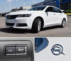 We're proud to have this 2015 Chevy bi-fuel Impala on our lot. At the push of a button, it runs on compressed natural gas (CNG), saving you money and reducing carbon dioxide emissions!