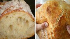 Bread (soft and crispy) - Brot Pastry Recipes, Bread Recipes, Cooking Recipes, Dutch Oven Bread, Braided Bread, Good Food, Yummy Food, Bread And Pastries, Bread Rolls
