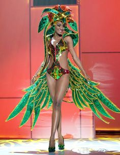 """Second verse, same as the first, bitches. Miss Aruba """"In Aruba, we have ROBOT SHOWGIRLS!"""" Miss Botswana """"Miss Botswana knows what to do with people Miss Universe Costumes, Miss Universe National Costume, My Heritage, Will Smith, Saints, Toms, Tavistock, Saint Lucia, Princess Zelda"""