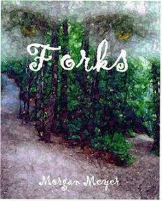 Forks was almost the name of Twilight and Stephenie thought about using Morgan as her pen name. Fun fact and an early cover.