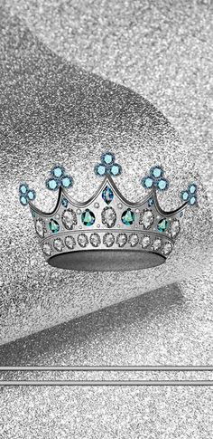 By Artist Unknown. Queen Wallpaper Crown, Bling Wallpaper, Queens Wallpaper, Full Hd Wallpaper, Apple Wallpaper, Screen Wallpaper, Wallpaper Backgrounds, Silver Wallpaper Phone, Phone Backgrounds