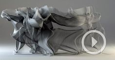 a.Gremmler created a 3D rendition of the motions of kung fu in an incredible way. The amorphous lines move along with the body and create a beautiful rendition of human motion. His work is a short video that shows multiple different kung fu sequences and highlights the beauty of this martial art. The use of gray scale allows the focus to lay on the motion without the distraction of the colors.