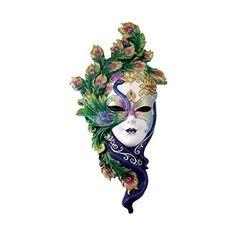 Peacock Süslemeleri ile Mardi Gras Sanat ve El Sanatları