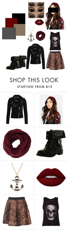 """Constance"" by lauraloohoo on Polyvore featuring Superdry, ASOS, BCBGMAXAZRIA, Refresh, Liz Claiborne, Lime Crime and ElevenParis"