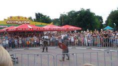 Турнир средневековых рыцарей в Дендропарке