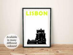 Lisbon Print, Portugal.