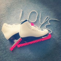 Love is...figure skating with my girl in the picture!!!
