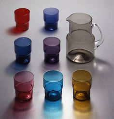 Saara Hopea Bukowski, Finland, Glass, Mid-century Modern, Scandinavian, Mid Century, Tableware, Design, House