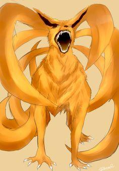 Kurama 9 tails