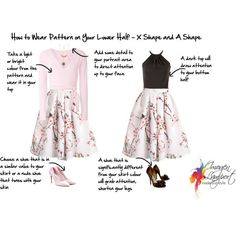 How to Flatter Curvy Hourglass Figures - How to Wear Pattern below the waist and what to avoid wearing below the waist