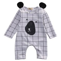 def906cd16a70b Bear Plaid Jumpsuit · Baby ...