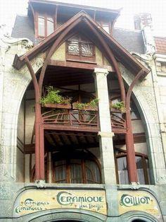 Hector guimard 1867 1942 maison coilliot 14 rue de for 82 rue brule maison lille
