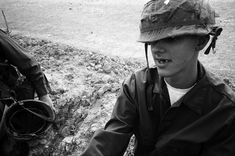 on the set of 'full metal jacket', hertfordshire '86 ph Joe Dilworth