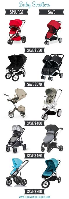 Wondering how to get a functional and beautiful baby stroller without breaking the bank? Then check out this post of all the best strollers for baby; and save a bundle too!