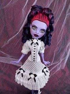 Monster High Custom Jane Boolittle Custom repaint ooak