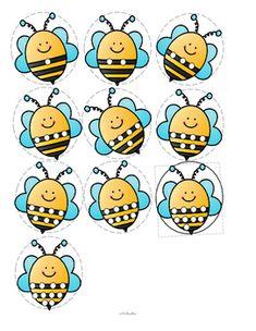 Bee Activities, Art Activities For Toddlers, Kindergarten Activities, Numbers Preschool, Preschool Math, Toddler Preschool, Preschool Garden, Preschool Centers, Bees For Kids