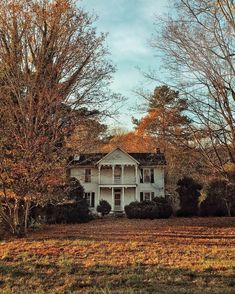 Autumn leaves falling like pieces into place Beautiful Homes, Beautiful Places, Autumn Aesthetic, Decoration Design, House Goals, Autumn Inspiration, Fall Halloween, Halloween Series, Architecture