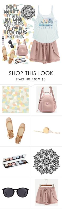 """Don't Worry"" by bostonterrierstylez ❤ liked on Polyvore featuring Cole & Son, Chloé, Seed Design, Bobbi Brown Cosmetics, Yves Saint Laurent, WithChic, Billabong and bostontseedscollection"