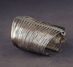alexander calder silver wire bracelet c. 1945