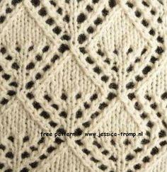 Lace Knitting Stitch #81 | Lace Knitting Stitches