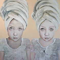 Girls with Turban Art And Illustration, Figurative Art, Contemporary Artists, Painting & Drawing, Art Drawings, Folk, Sculpture, Statue, Artwork