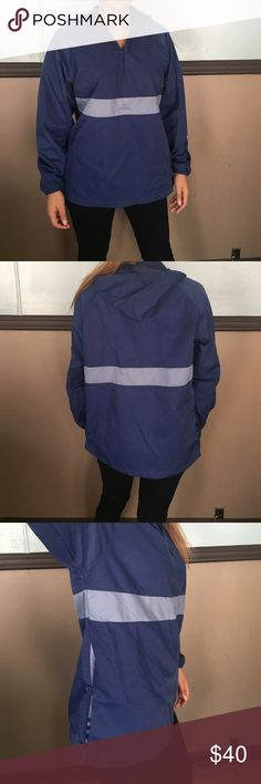 Adidas jacket Perfect condition! I'm a small/ Medium& it fits me like this Adidas Jackets & Coats Windbreakers