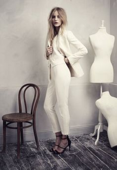 Three-piece suit from H&M's Conscious Exclusive Collection