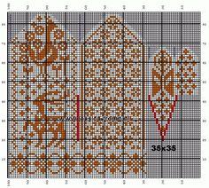 30 Patrones de Mitones Jackard Crochet Mittens Pattern, Crochet Gloves, Knit Mittens, Knitting Socks, Baby Knitting, Knitting Charts, Knitting Stitches, Knitting Patterns, Norwegian Knitting