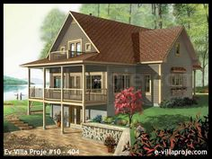 Discover the plan 3918 (Vistas which will please you for its 4 bedrooms and for its Cottage, chalet, cabin styles. Lake House Plans, Basement House Plans, Walkout Basement, Country Style House Plans, Craftsman Style House Plans, The Plan, How To Plan, Small Lake Houses, Small Cabins