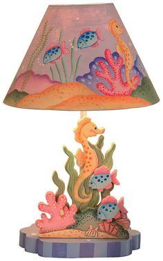 Teamson Children's Table Lamp - Under the Sea - Best Price