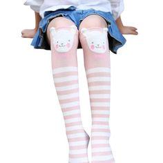 aa210e5ba7d Cotton Kawaii Girls Boys Sock Cartoon Animals Sock Kids Socks Newborn  Toddler Baby Long Socks 2