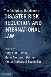 """Read """"The Cambridge Handbook of Disaster Risk Reduction and International Law"""" by available from Rakuten Kobo. The number, intensity, and impact of diverse forms of 'natural' and 'human-made' disasters are increasing. Environmental Law, Cambridge University, Risk Management, Read Aloud, Reading Online, Audiobooks, Ebooks, This Book, Free Apps"""