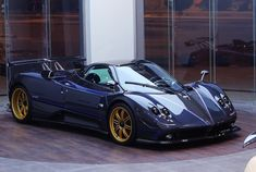 "2010 Pagani Zonda Tricolore - Celebrate's the 50th anniversary of the ""Frecce Tricolori"" created as a tribute to the official airborne demonstration team of the Italian Air Force."