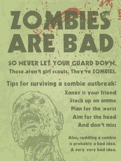 Survival Poster, you need it!