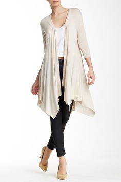 Drapey Front Duster Cardigan by H.I.P. on @nordstrom_rack