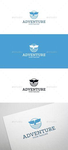 Ocean Adventure Logo - Animals Logo Templates