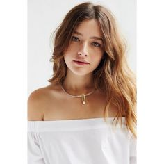 Jenny Bird Watson Collar Necklace (175 AUD) ❤ liked on Polyvore featuring jewelry, necklaces, silver, collar necklace, pearl pendant, pearl necklace, chain choker necklace and chain necklace